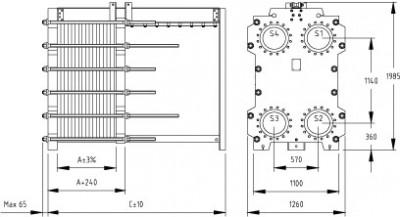 ТЕПЛООБМЕННИК SWEP (РОСВЕП) GX 85S